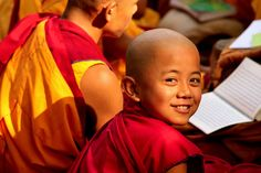 :) young monk