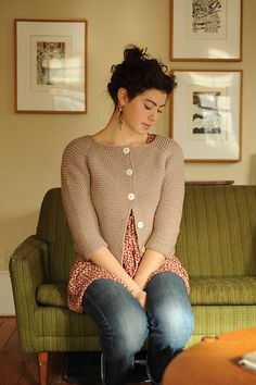 Ravelry: Annabel Cardigan pattern by Carrie Bostick Hoge