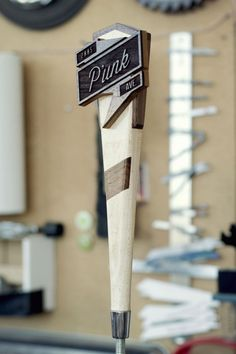 The Process: Crafting a Wooden Beer Tap Handle from Scratch | Man Made DIY | Crafts for Men | Keywords: beer, DIY, process, wood