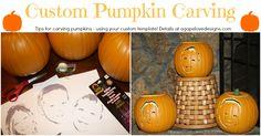 Custom Pumpkin Carving Tips!