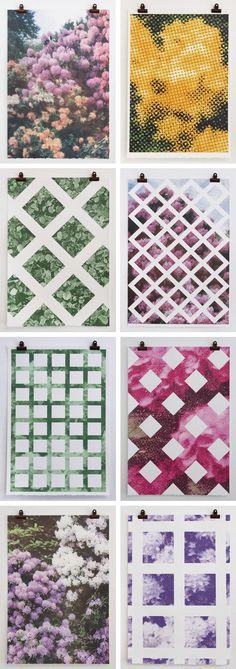 The first series of limited edition prints from Print Club Boston, by artist Elizabeth Corkery. Each series will be designed around a central theme, the first being The Trellis, which includes prints inspired by the structure of garden trellis. Each piece is carefully screen printed by hand.