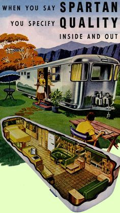 Spartan Mobile Home Remodeling Ideas Vintage Mobile Home - For Inspiration! with the Mid Century Modern (Retro) Craze going on many people are downsizing and remodeling Vintage Mobile Homes.