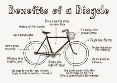 art, benefits, benefits of a bike, benefitsofbycycle, bicycle, bike