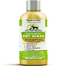 Buy it before it ends. There is always many products on sae upto - Pro Pet Works All Natural Organic Oatmeal Pet Shampoo Plus Conditioner - Hypoallergenic and Soap Free Blend with Aloe Gel for Allergies & Sensitive Skin- - Super Shop Diy Dog Shampoo, Best Dog Shampoo, Oatmeal Shampoo, Good Shampoo And Conditioner, Dog Smells, Jojoba, Best Shampoos, Sensitive Skin, Photoshop