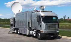 Just completed install of a new satellite antenna on an unmarked mobile command post for another US Government Agency