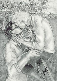 First Kiss by IwaoLovesDraco.deviantart.com on @DeviantArt