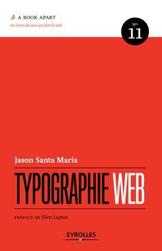 Typographie Web de Jason Santa Maria aux éditions Eyrolles
