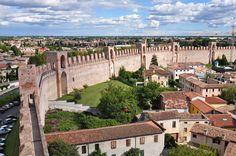 Citadella, Padua, Italy ~ built in 1220 (really it's Vicenza a province near to padova.) Veneto