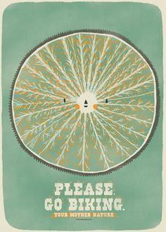 Please go biking