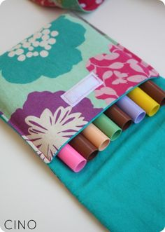 Church busy bags with marker & crayon bags