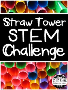 how to build a straw tower
