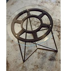 Cog table ... but could work with a bike wheel!
