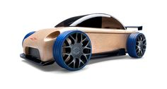 Wooden Cars, Automoblox sports car sedan wooden toy car by Manhattan Toy Wooden Car, Wooden Toys, Sports Games For Kids, Play Vehicles, Sports Sedan, Limousine, Designer Toys, Toy Store, Kids Toys