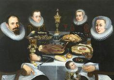 Unknown (Dutch)  Portrait of a Patrician Family  1610