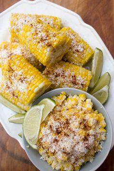 Mexican corn salad - esquites