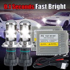 FREE SHIPPING 9004 high low 9004/9007 car Bi xenon hid kits 55W Hi Lo Beam Lamp 6000K, hid car lights lamp