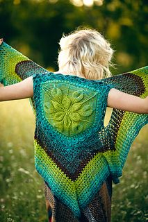 This pattern is part of a Crochet A-long sponsored by Furls and designed by Bonita Patterns & Yarns.