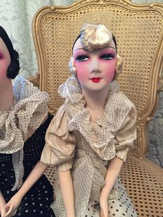 REDUCEDRare high color Boudoir doll high color French