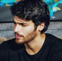 Turkish Men, Turkish Actors, Beautiful Men Faces, Gorgeous Men, Famous In Love, Actor Model, Male Face, Beard Styles, Good Looking Men