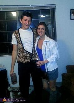 Ferris Bueller and Sloane - Halloween Costume Contest via @costumeworks