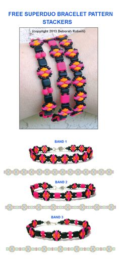 Download the detailed step by step FREE tutorial at Sova-Enterprises.com or at Bead-Patterns.com