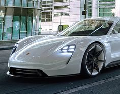 """Check out new work on my @Behance portfolio: """"CGI Porsche Mission E Concept"""" http://be.net/gallery/45946241/CGI-Porsche-Mission-E-Concept"""