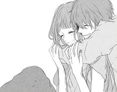 Pin by lily on anime and manga Anime Couples Cuddling, Anime Couples Hugging, Cute Anime Couples, Couple Cuddling, Couple Hugging, Anime Boys, Kawaii Anime, Manga Romance, Image Couple