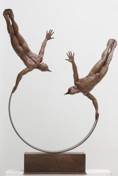 Sculpturist Jorge Marin Artista Javier Rodríguez Borgio, empresario, director de cine y productor de cine. Francisco Javier Rodríguez Borgio