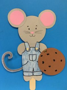 mouse crafts If You Give a Mouse a Cookie - Kids Paper Craft