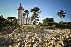 Phare de Sainte-Marine  prés de la Pointe de Combrit | Finistère | Bretagne | #myfinistere