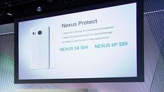 """the latest innovations: Google offers """"Nexus Protect"""", Additional Warranty..."""