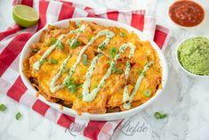 Mexicaanse ovenschotel met kip en nacho's - Keuken♥Liefde