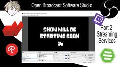 Welcome to How to set up OBS Studio. In this guide we'll show the settings you'll need in OBS Studio to begin streaming and understand everything you're look. Tv Streaming, Channel, Studio, Cord, Youtube, Cable, Studios, Cords, Twine