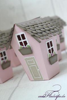 """www.fliederfee.de: Stampin' Up! Schenklis m. """"Ein Haus für alle Fälle"""" u. d. Thinlits """"Zu Hause"""""""