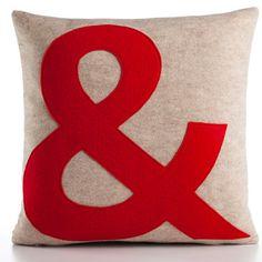 initial pillows? D&C