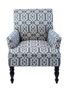 Cushiony Price Taghide  This look-alike can be ordered in four patterns. Rush over to Pier 1 Imports to find this Liliana ironwork armchair for only $380.