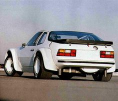 Porsche 924 Carrera GTR GTP - Fender fenders in my dreams.....