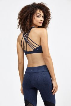 String Back Bra by Bandier @BandierNYC could this not only look comfortable as ever along with be the most beautiful sports bra ever ?!