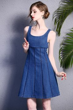 S-XL Sleeveless Jeans Summer Dress by Enice from Enice Fashion by DaWanda.com