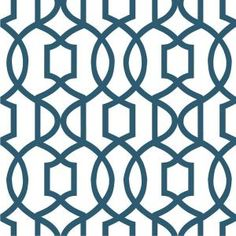 WallPOPs, 30.75 sq. ft. Navy Grand Trellis Peel and Stick Wallpaper, NU1648 at The Home Depot - Mobile