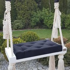 Indoor Swing, Porch Swing, Wooden Swings, Useful Life Hacks, Child Love, Solid Pine, Outdoor Furniture, Outdoor Decor, Furniture Makeover