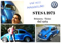 #AliceChl #VWMaggiolino #STESA1973 Cars, Autos, Car, Automobile, Trucks