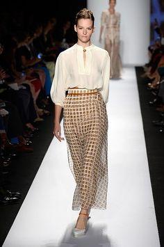 Every Look From Carolina Herrera's Feminine Spring 2014 Collection   StyleCaster