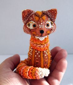 Fantasy textile Fox