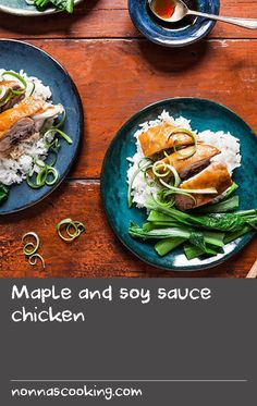 Maple and soy sauce chicken Dishes Recipes, Tasty Dishes, Wine Recipes, Cooking Recipes, Best Fish Batter, Fish Batter Recipe, Recipes With Soy Sauce, Chicken Sauce Recipes, Chicken In Wine Sauce
