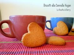 Butter free and eggs free cinnamon cookies Biscotti alla Cannella Eggless Recipes, Veg Recipes, Sweet Recipes, Dog Food Recipes, Vegan Cake, Vegan Desserts, Vegan Food, Italian Almond Biscuits, Hemp Seed Recipes