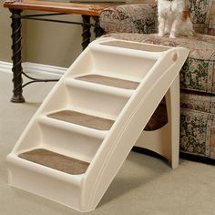 Heavy Duty 4 Step Pet Stair | Luluu0027s Room | Pinterest | Pet Stairs, Dog  Beds And Dog