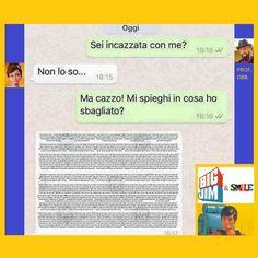 Big Jim & Smile: Quando lei ti spiega - Prof. Obb Yolo, Funny Cute, Easy Drawings, Memes, Cute Pictures, Haha, Romanticism, Meme, Ha Ha