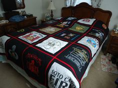 I love this t-shirt quilt maybe just cause its in DAWG COLORS!!