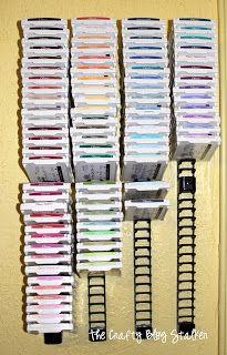 The Crafty Blog Stalker: My Craft Room & DIY Ink Pad Storage
